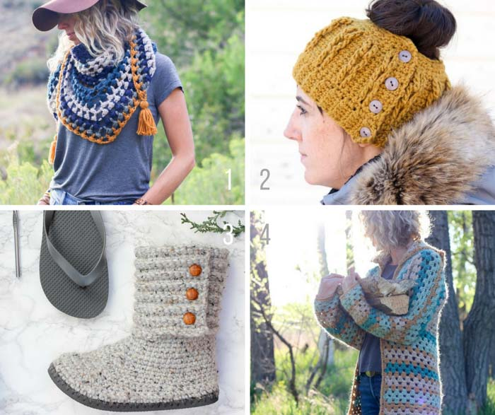 Modern crochet video tutorials for easy, beginner projects from Make and Do Crew.