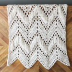 Sedona Fringed Crochet Throw – Free Pattern!