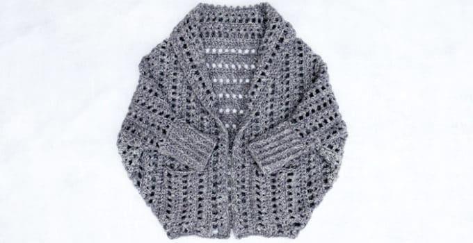 The Dwell Chunky Crochet Sweater – Free Pattern