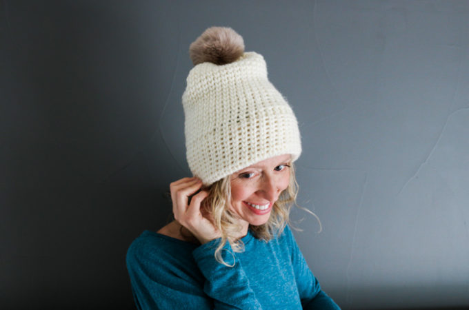 The Everywhere Beanie–Free Crochet Hat Pattern for Beginners