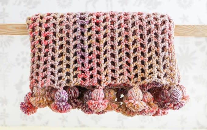 Presto 4.5 Hour Afghan – Free + Fast Crochet Blanket Pattern