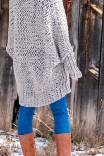 Habitat Beginner Crochet Sweater Free Pattern 3 187 Make