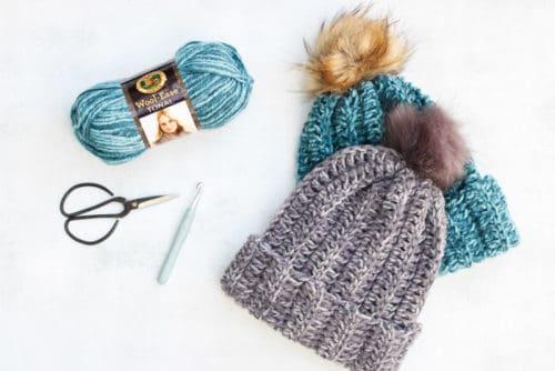 One Hour Fast Crochet Beanie Free Pattern 44 187 Make Amp Do Crew
