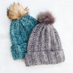 1.5 Hour – Free Crochet Hat Pattern for Beginners + Video