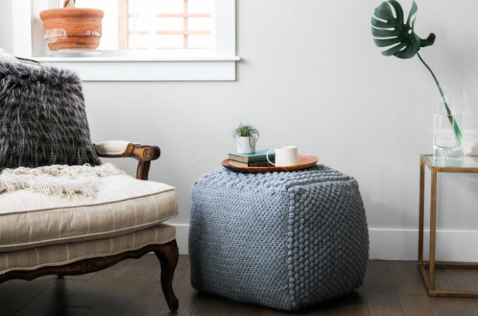 The Sampler Pouf – Free Crochet Pouf Pattern Part 2
