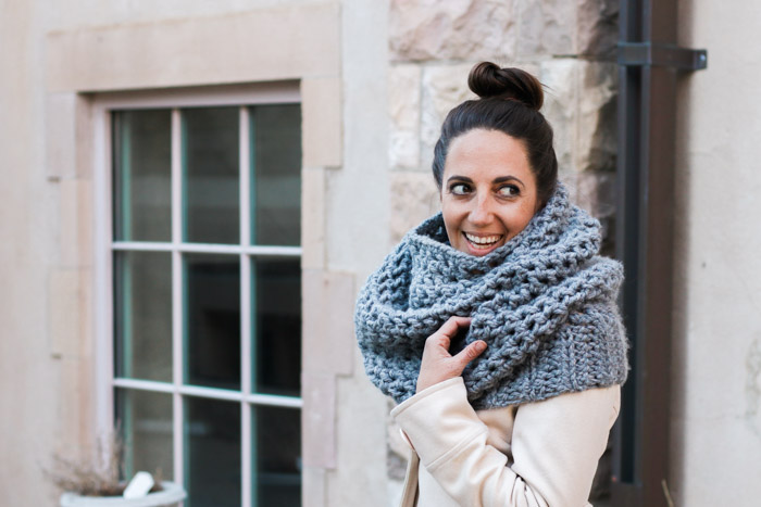 Manchester Cowl Free Crochet Pattern Make Do Crew