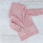 XO Cardigan – Free Girls Crochet Cardigan Pattern Part 2