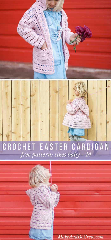 easter-crochet-pattern-hexagon-cardigan - Make & Do Crew