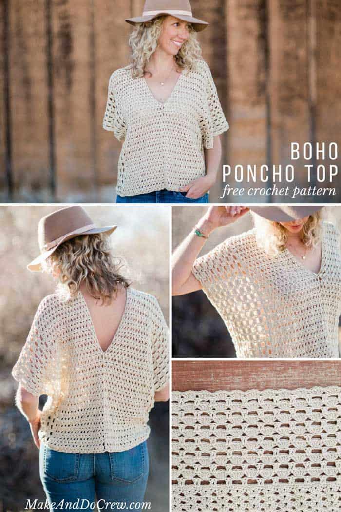 Summer Crochet Top Free Pattern Make Do Crew