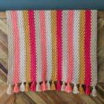 Modern Crochet Granny Stitch Blanket – Free Pattern!