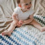 Tributary Free Beginner Crochet Baby Blanket Pattern