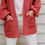 Easy Crochet Hexagon Cardigan – Step-by-Step Video Tutorial