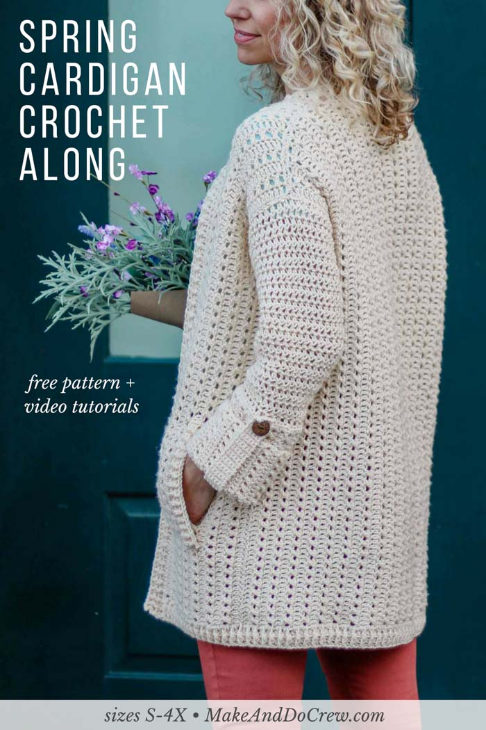 Join the makers and doers around the world each each week in May to learn to crochet your own modern, lightweight cardigan, aided by real-time support and weekly step-by-step video tutorials! Get your Lion Brand Vanna's Style yarn from LoveCrochet.com today!