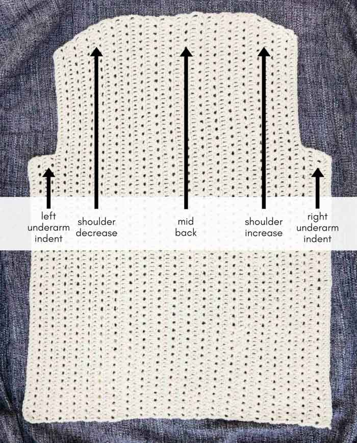 How to crochet a cardigan - free pattern and video tutorial from Make & Do Crew and LoveCrochet.com.