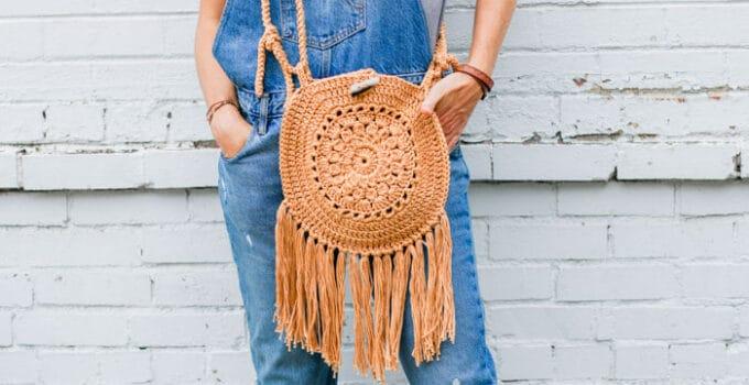 Street Fair Crochet Boho Purse – Free Pattern
