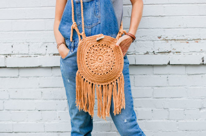 Street Fair Crochet Boho Purse – Free Pattern