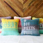 Mandala Ombre Pillows – Easy Free Crochet Pattern