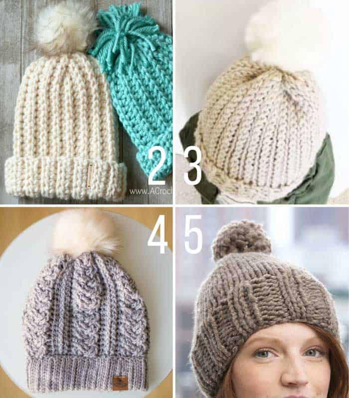 knit-crochet-chunky-hat-patterns-2 » Make & Do Crew