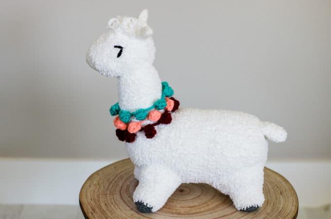 Super Soft Crochet Alpaca (or Llama!) Toy – Free Pattern
