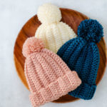 1 Hour Easy Child's Crochet Hat Pattern (With Adult Sizes!)