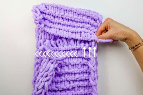 easy-finger-knitting-tutorial-off-the-hook-yarn » Make ...