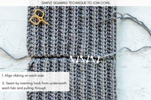 How To Seam Crocheting Looks Like Knitting 2 2 Make Do Crew
