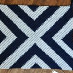 Modern Corner to Corner Crochet Blanket – Free Pattern by Fly The Distance Co.