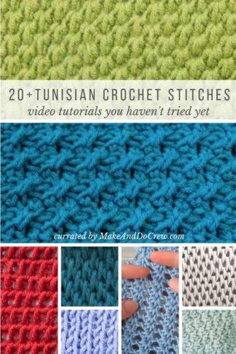 Tunisian-crochet-stitches-video-tutorials » Make & Do Crew