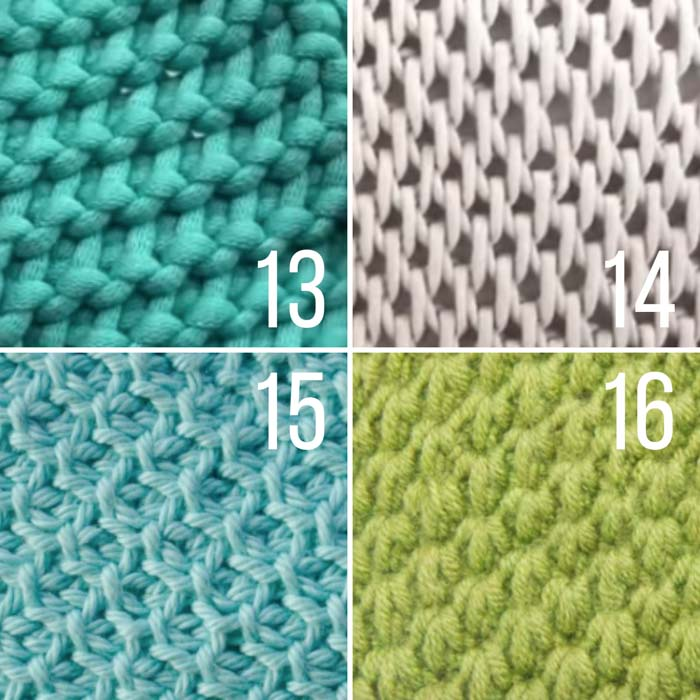 This list of unique Tunisian crochet stitches with video tutorials is perfect for your next blanket or afghan.