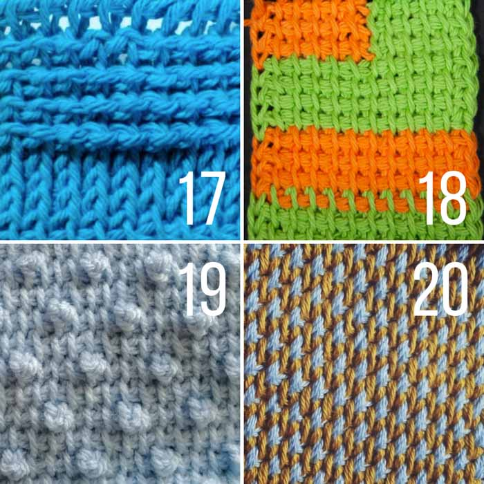 This list of beautiful Tunisian crochet stitches with video tutorials is perfect for your Tunisian crochet project.