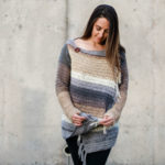 Part 1: Strata Free Crochet Sweater Pattern (With a Hood!)