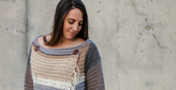 Part 2: Strata Free Crochet Sweater Pattern