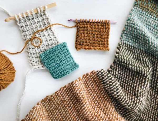 Learn about the best Tunisian crochet hooks, how to do the tunisian crochet stitch and check out some great free pattern in this comprehensive beginner's guide.