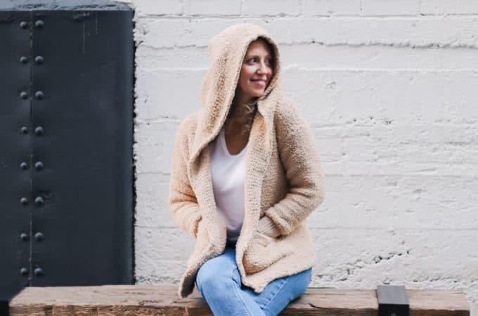 Crochet Sherpa Sweater Jacket – Free Pattern Part 1