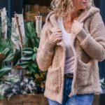 Sherpa Crochet Sweater Jacket – Free Pattern Part 2