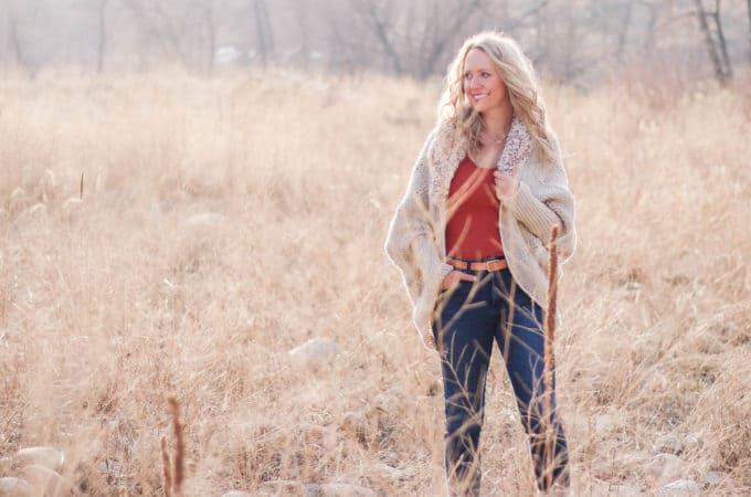 Oversized Crochet Cardigan With Fur Collar – Free Pattern