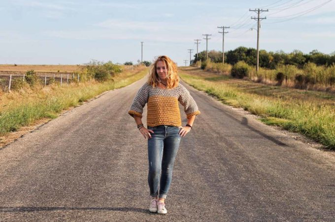 The Weekender Sweater – Fast Crochet Pattern By Cactus & Lace Designs