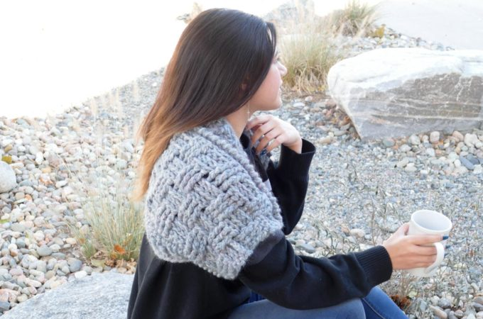Fast Crochet Bolero – Free Pattern by Made With a Twist