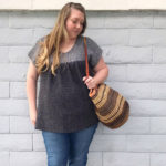 Lightweight Crochet Top With Cap Sleeves – Free Pattern by Meghan Makes Do