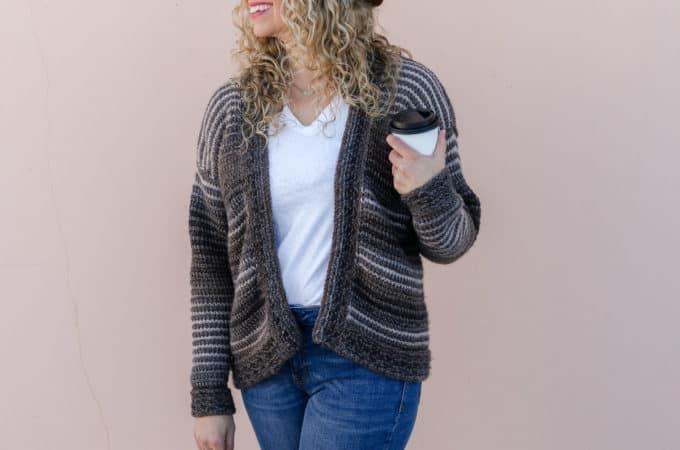 Mercantile Free Tunisian Crochet Cardigan Pattern – Part 2