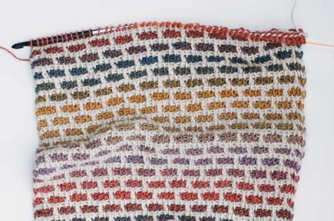 Video Tutorial: The Tunisian Crochet Brick Stitch (aka the Grid Stitch)