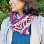 Tunisian Crochet Neck Warmer – Free Pattern by Knitter Knotter