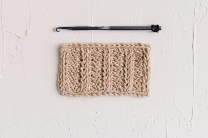 Tunisian Crochet Ribbing – The Tunisian Rib Stitch Video Tutorial