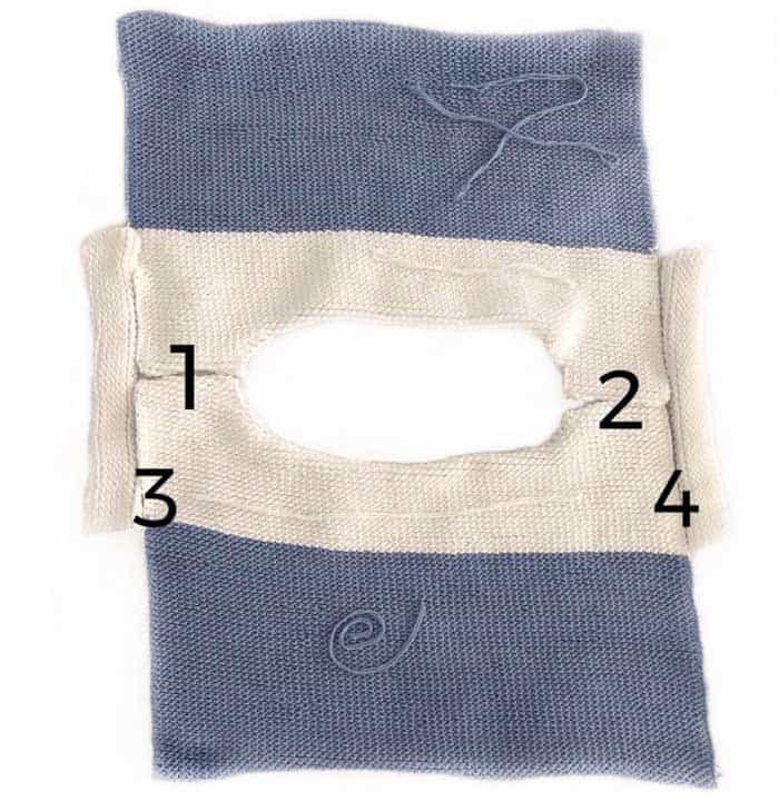 Free crochet pattern and tutorial for a beginner Tunisian crochet top