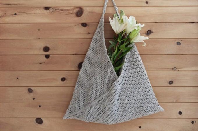Beginner Crochet Market Tote Bag – Free Pattern By Lakeside Loops
