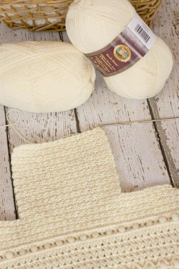 Classic Crochet Baby Bonnet - Free Pattern by Kirsten