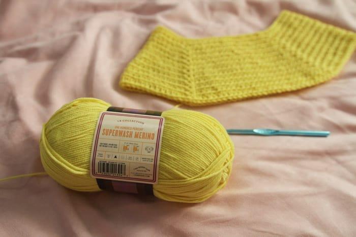Lion Brand Superwash Merino yarn