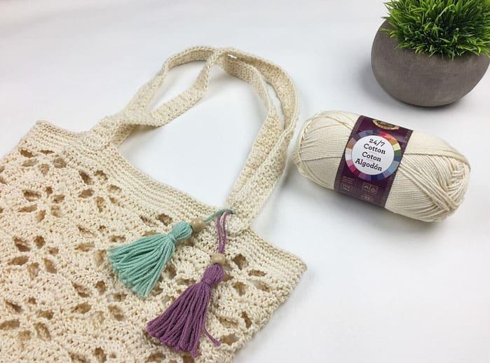 Lion Brand Yarns 24/7 Cotton yarn