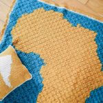 C2C Crochet Africa Map Blanket – Free Pattern by PukaPuka