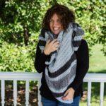 Cozy Crochet Shawl – Free Pattern by Stitch and Hustle